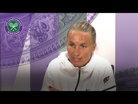 Svetlana Kuznetsova Wimbledon 2017 fourth round press conference