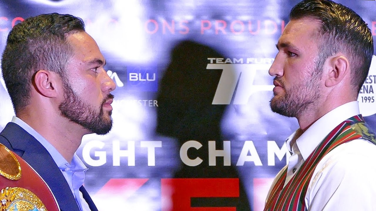 Image result for Joseph Parker vs Hughie Fury fight pic