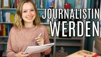 So kannst du Journalistin / Journalist werden