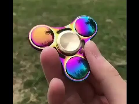 THE MOST AMAZING FIDGET SPINNERS COMPILATION (Very Satisfying & Stress Reduce)