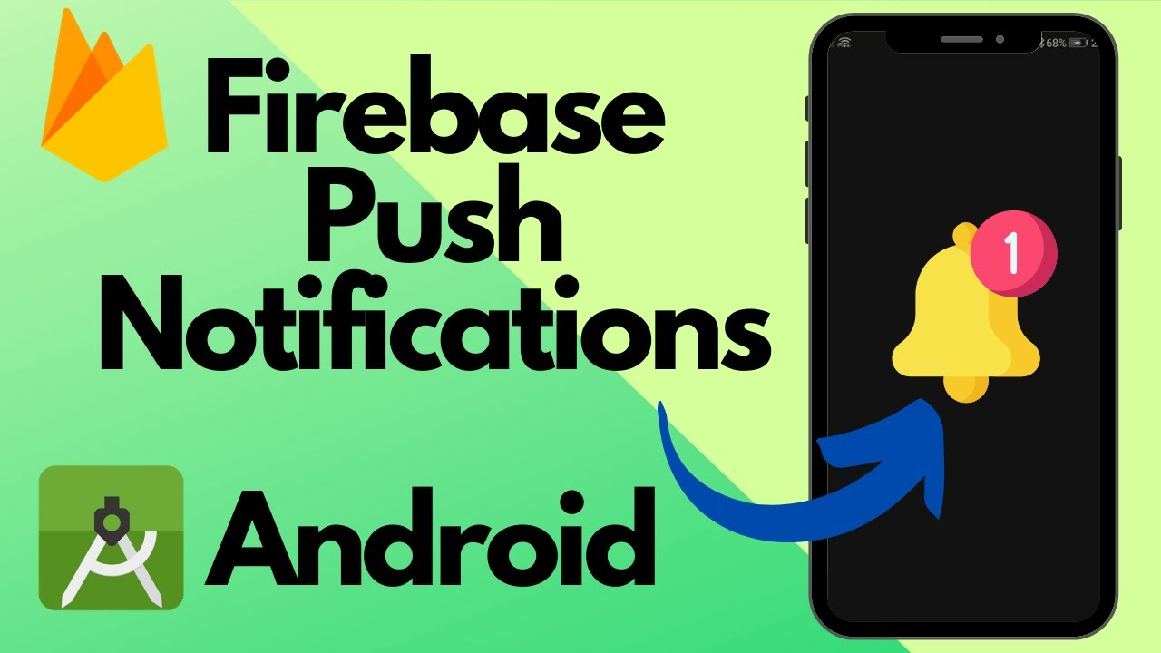 Firebase Push Notifications in Android Studio | Beginners