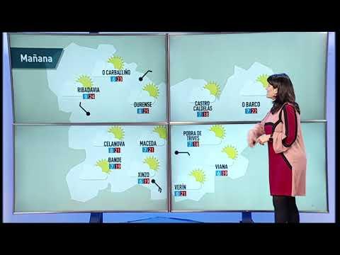 ¿Cuál es la previsión del tiempo para el miércoles en la provincia de Ourense?
