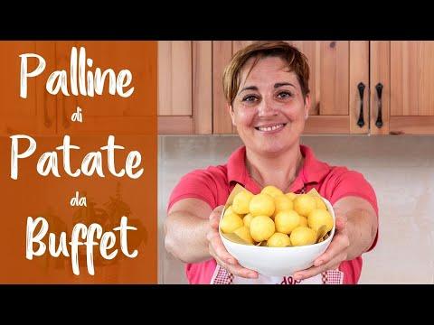 PALLINE DI PATATE DA BUFFET IN 5 MINUTI - Ricetta Facile di Benedetta