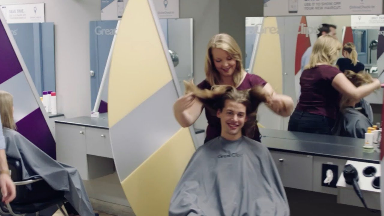 National Great Clips Commercial Greatest Great Haircut Sale Long