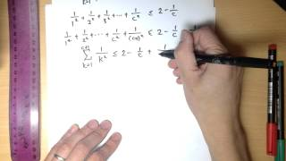 Induction Inequality Proof Example 1: Σ(k = 1 to n) 1/k² ≤ 2 - 1/n