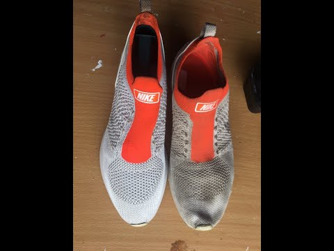 How to clean Nike Mariah Flyknit Racers