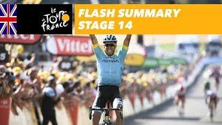 Flash Summary - Stage 14 - Tour de France 2018