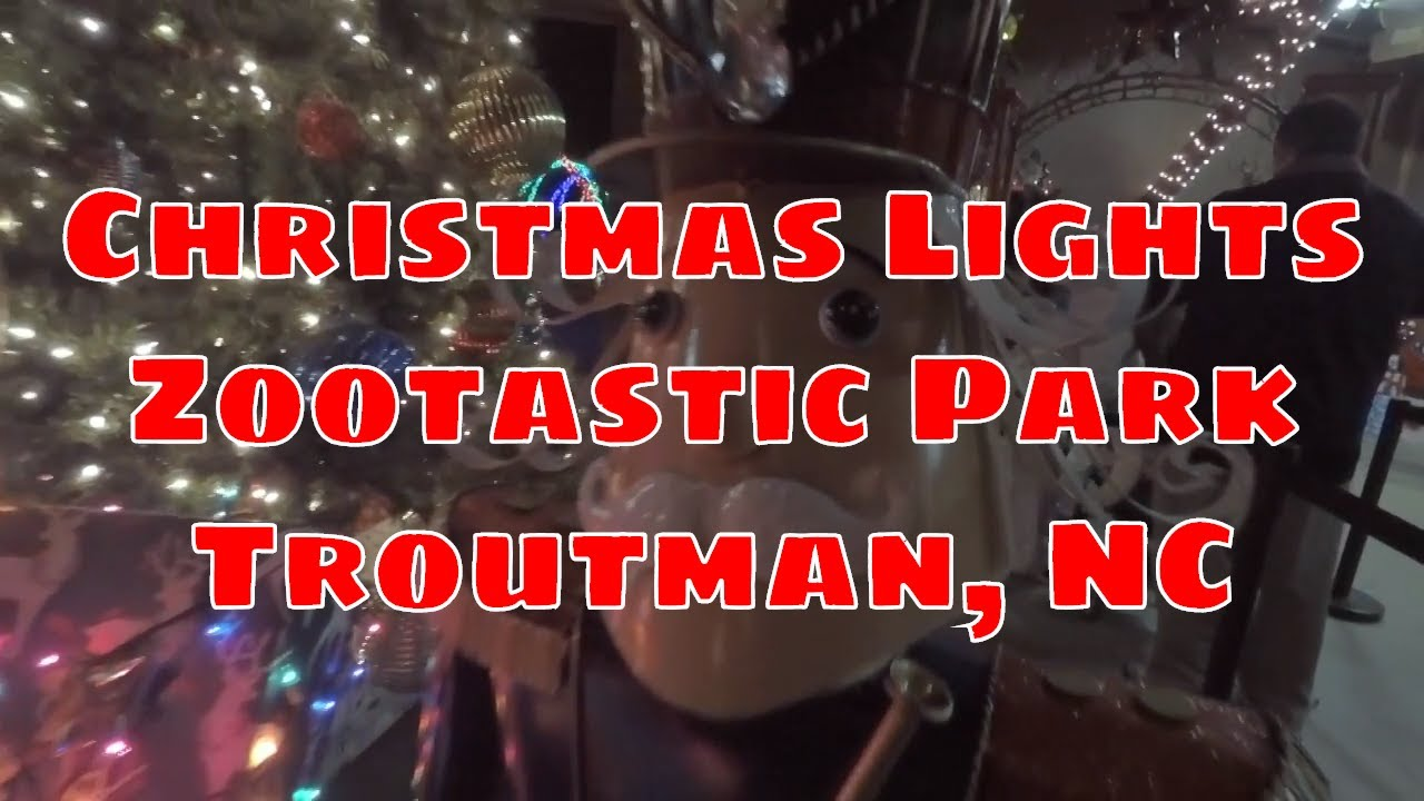 Christmas Light Show at Zootastic Park - Troutman, North Carolina ...