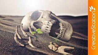 Life in Death - Speed art (#Photoshop) | CreativeStation