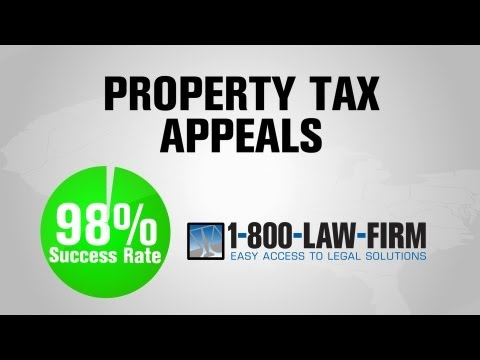 1-800-LAW-FIRM Property Tax Appeal Successes