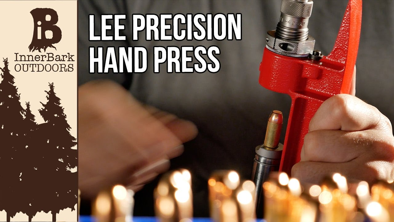 Lee Breech Lock Hand Press: Mini Reloading press