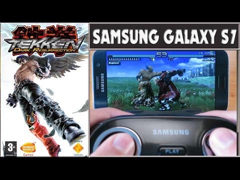 Tekken Dark Resurrection Gameplay Samsung Galaxy S7 (PPSSPP PSP emulator)