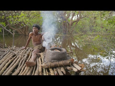 Primitive Technology, Clay Stove on water