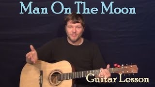 Man On The Moon Phillip Phillips Guitar Lesson Strum Fingerstyle How to Play Tutorial