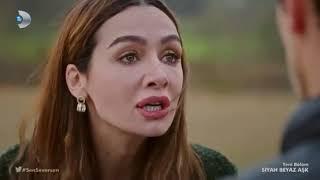 Siyah Beyaz Aşk 8. Bölüm Sen severkende öldürürsün. Duygusal sahne...