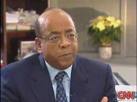 Mo Ibrahim, founder of Celtel