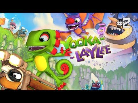 Twitch Livestream | Yooka-Laylee Part 2 [PC]