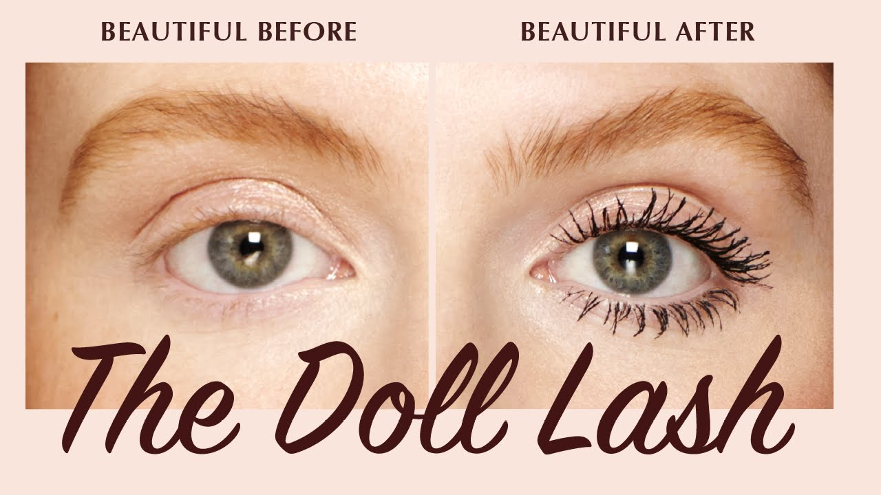 efaa5cbf382 Mascara Tutorial: Create The Doll Lash Look | Charlotte Tilbury ...