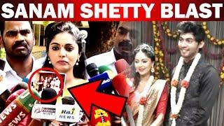 Actress Sanam Shetty complains about Bigg Boss