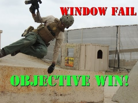 Integrity Tactical Solutions Window Fail, Objective Win with Jet DesertFox