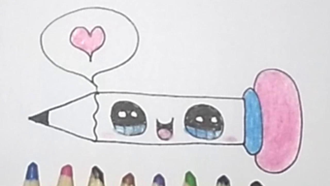 رسومات اطفال سهلة رسم قلم رصاص كيوت Draw Easy Pencil Youtube