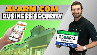 Business Security with Alarm.com Services