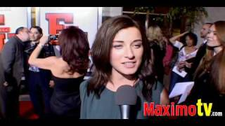 Margo Harshman Interview at Fired Up! Premiere