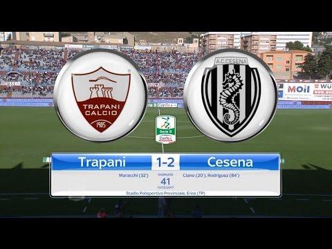 Highlights Trapani-Cesena 1-2, 41^ Giornata SerieB 13.05.17 ©TrapaniCalcio.it