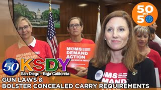 50 en 50 - Gun Laws and Bolster Concealed Carry Requirements