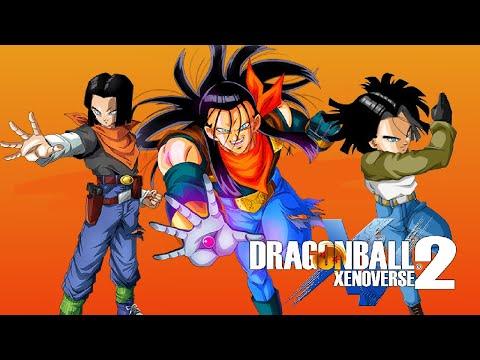 Dragon Ball Xenoverse 2 Todos los  ANDROIDES 17  (ALL ANDROID 17)