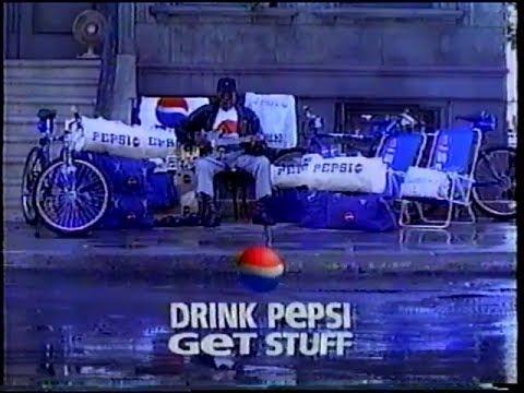 Drink Pepsi Get Stuff Commercial (1996)