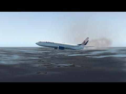 Water Emergency Landing Challenge