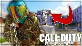 5 HIDDEN SECRETS YOU MISSED ON BLACK OPS 3! 'Glow in the Dark Camo' #10