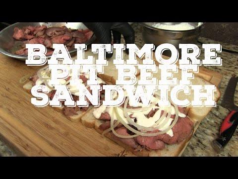 Baltimore Pit Beef Sandwich recipe