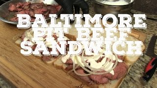 MothersBBQ |Baltimore Pit Beef Sandwich recipe