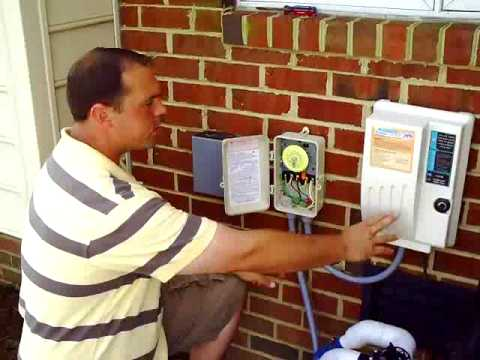Salt Water Chlorinator Wiring Guide Video YouTube – Inground Pool Wiring-diagram