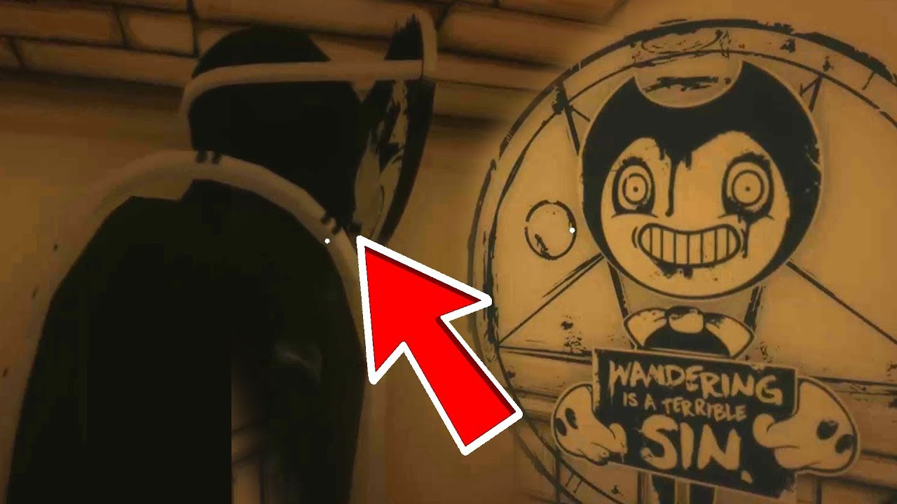 HACKING UPDATED CHAPTER 2 SAMMY FACE REVEAL!   Bendy And The ink Machine Chapter 2 #1