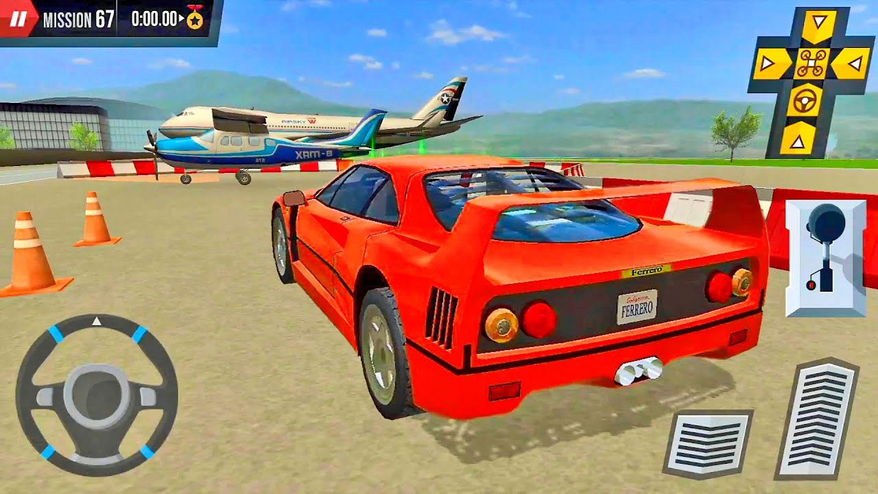 Multi Level Parking 5 Airport Ep11 - Car Games Android IOS gameplay