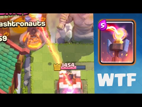 Clash Royale - INSANE Glitch! Inferno-ing Crown Towers! - Clash Royale
