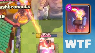 Clash Royale - INSANE Glitch! Inferno-ing Crown Towers!