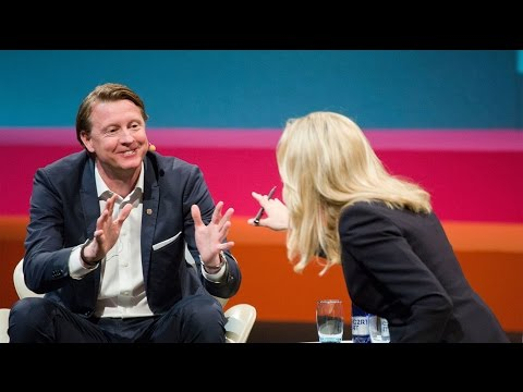 "Hans Vestberg on ""How to Continuously Develop your Business"""