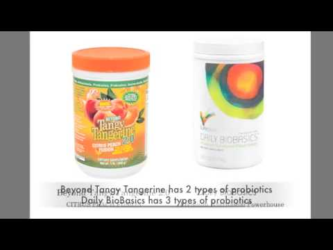 Ingredients Comparison: Beyond Tangy Tangerine vs Daily Bio Basics