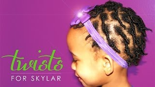 NATURAL HAIR KIDS | SKYLAR