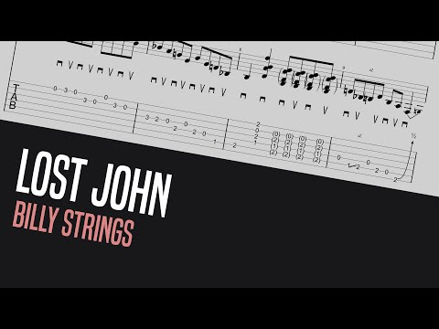 Learn Billy Strings' Lost John guitar break with me! - Bluegrass Guitar