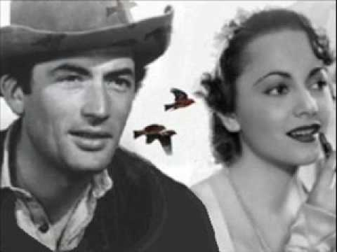 "Gregory Peck & Olivia de Havilland ""The Cowboy & the Lady"" 1 of 3"
