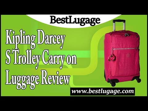 Kipling Darcey S Trolley Carry on Luggage Review