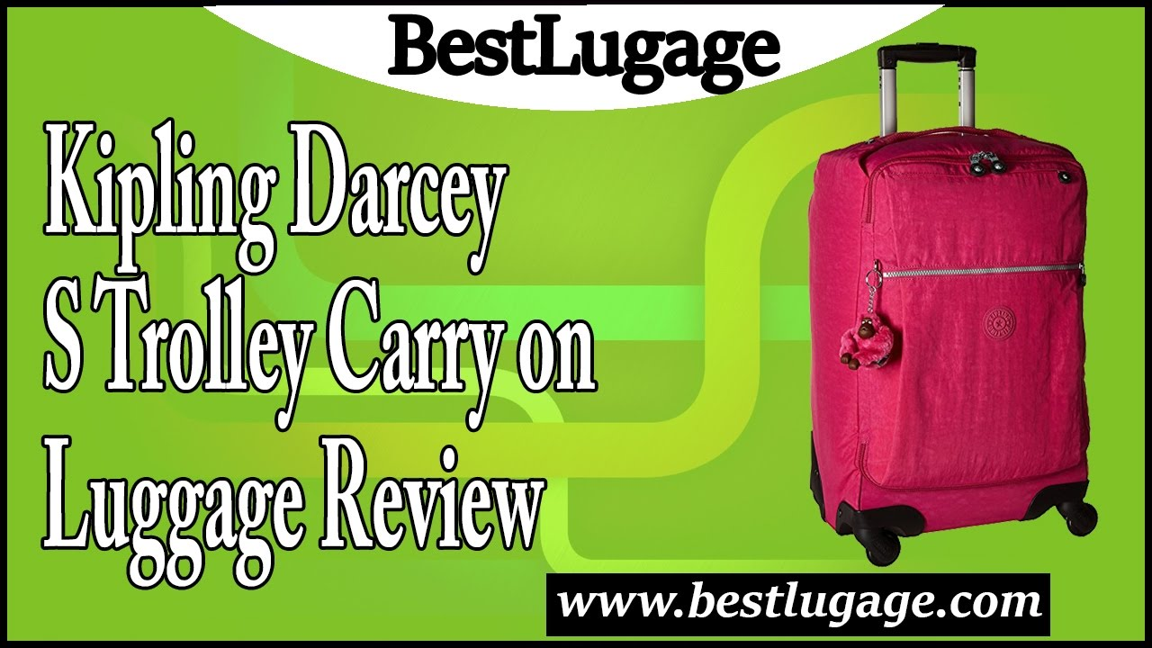 66bcd41ad9 Kipling Darcey S Trolley Carry on Luggage Review - YouTube