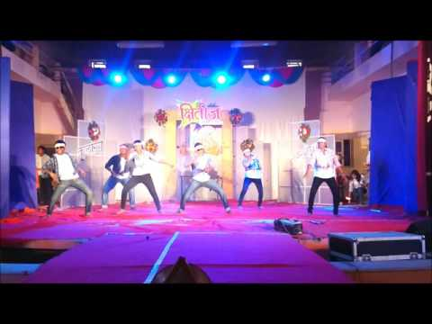 Walchand college of Engineering annual gathering 2014 , dance by awesome group , B.tech mechanical