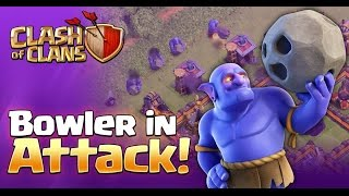 BOWLER ATTACK!!!, BEST ATTACK STRATEGY AT TH10! October 2016 Update