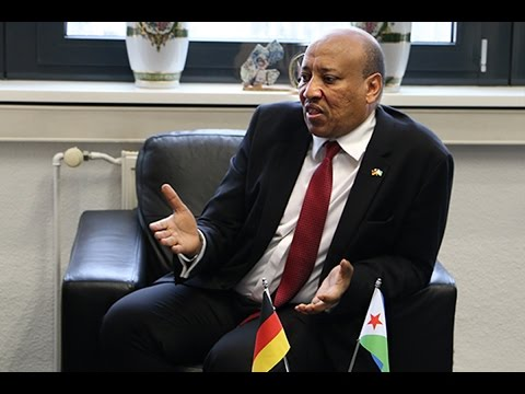 Aden Mohamed Dileita (Ambassador of Djibouti to Germany)